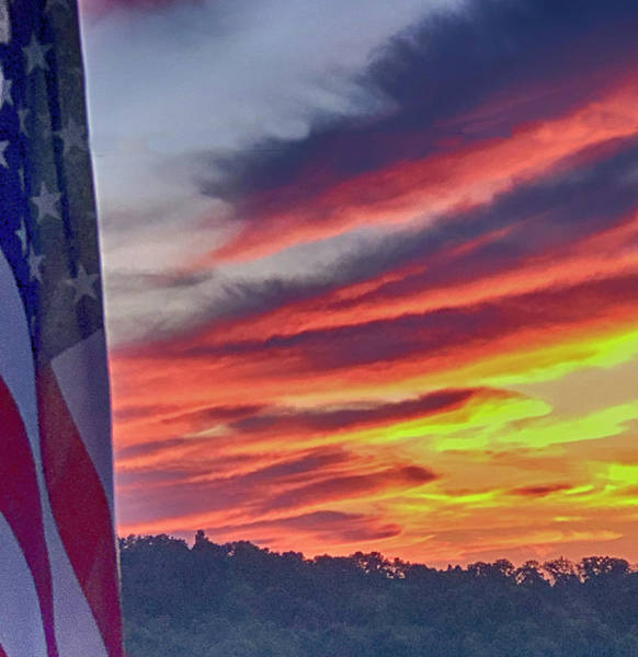 Photograph - Stars Bars And Colors by Jim Cook