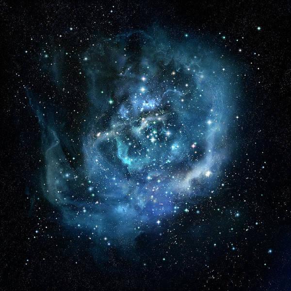 Space Exploration Digital Art - Stars by Ian Mckinnell