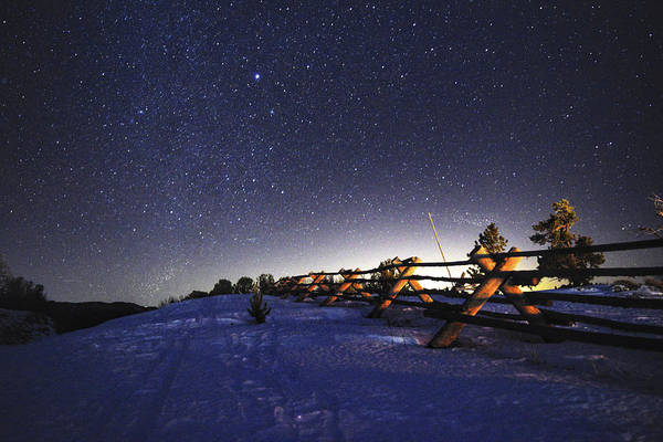 Photograph - Stars Of Wyoming by Chance Kafka