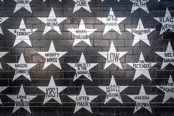 Photograph - Stars On The Wall by Framing Places