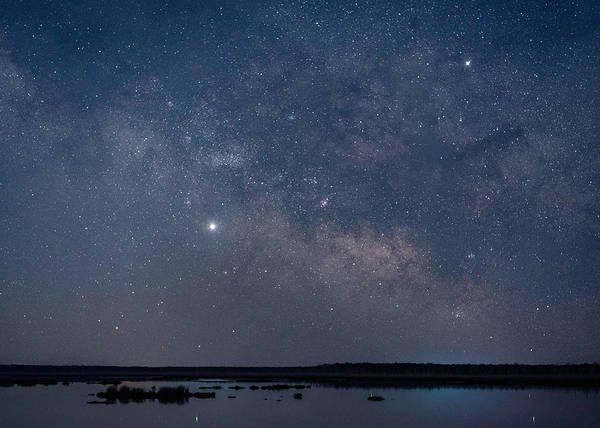 Wall Art - Photograph - Stars Over Beaverdam Creek by Robert Fawcett