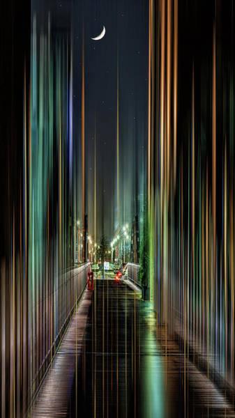 City Scape Digital Art - Stars Over Hamburg by Tim Palmer