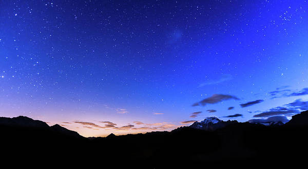 Wall Art - Photograph - Stars Over Mountains by Lightkey