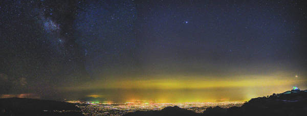 Photograph - Stars Over Tucson by Chance Kafka