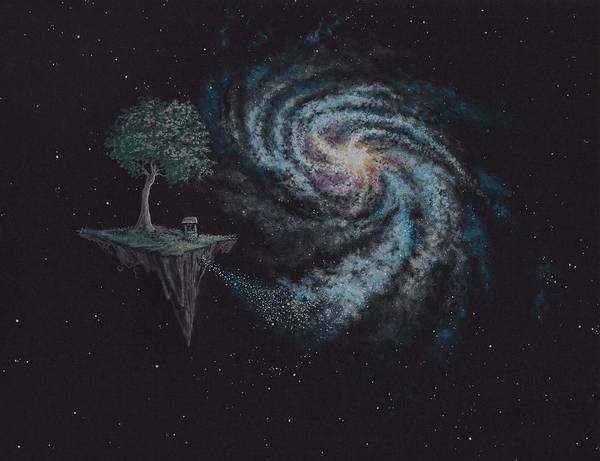 Tree Painting - Starstuff by Michael Zawacki
