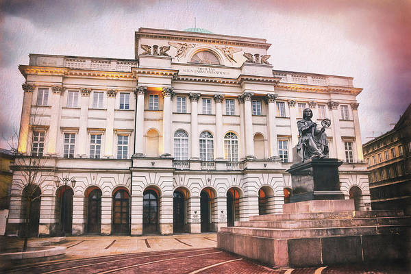 Wall Art - Photograph - Staszic Palace Warsaw Poland by Carol Japp
