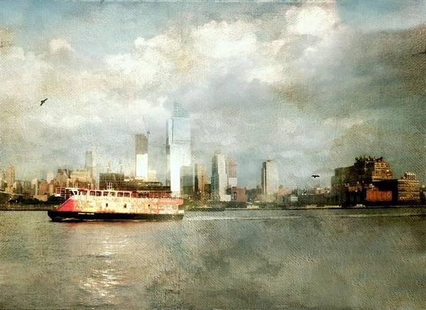 Wall Art - Photograph - Staten Island Ferry by Diana Angstadt