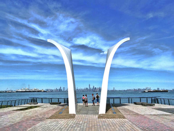 Wall Art - Photograph - Staten Island September 11 Memorial by Allen Beatty