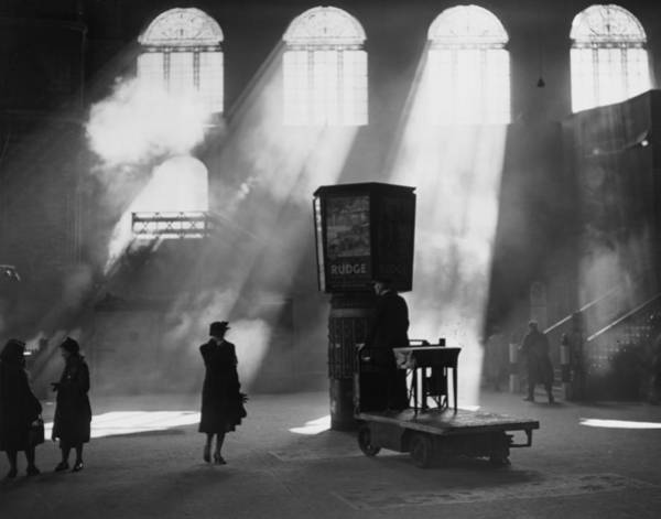 Mode Of Transport Photograph - Station Sunlight by Harry Todd
