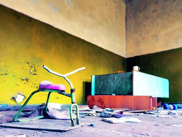 Wall Art - Photograph - Stationary Bike by Dominic Piperata