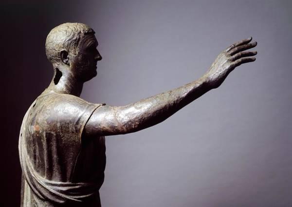 Public Speaker Photograph - Statue Of Arringatore by Roman School
