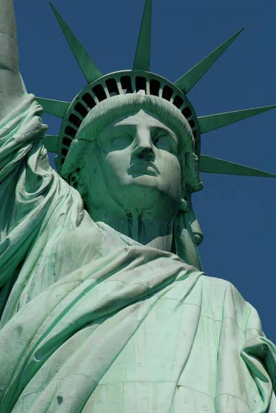 Statue Of Liberty, Nyc Art Print by Manrico Mirabelli
