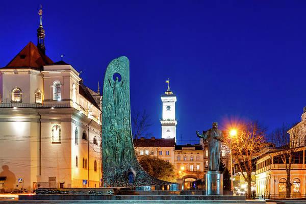 Photograph - Statue Of Taras Shevchenko by Fabrizio Troiani