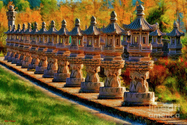 Photograph - Statues At The Chongsheng Temple by Blake Richards