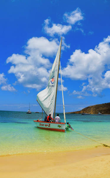 Photograph - Stay Up 2 Sailing In Anguilla by Ola Allen