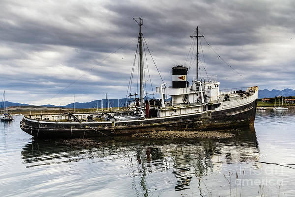 Photograph - St.christopher, Ushuaia by Lyl Dil Creations