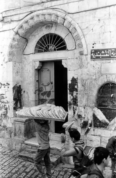 Photograph - Stealing From The Bread Vendor - Jerusalem Israel by Rick Veldman