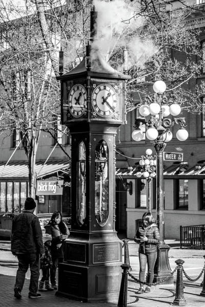 Photograph - Steam Clock by Ross G Strachan