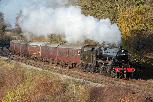 Photograph - Steam Locomotive 45305 by Steam Train