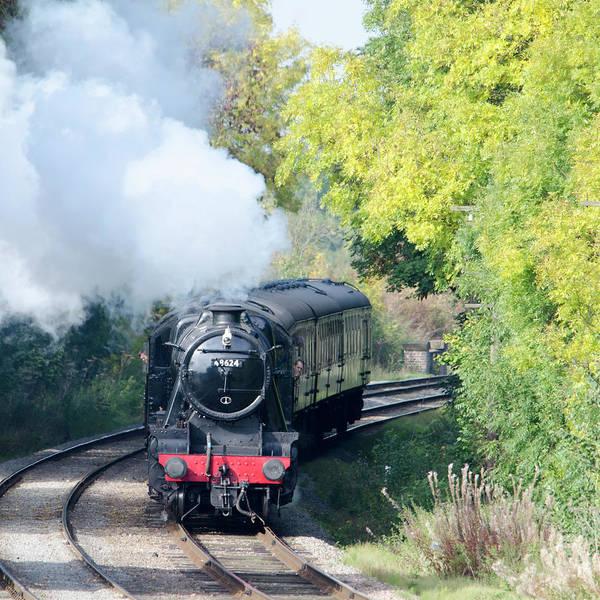 Photograph - Steam Locomotive 48624 by Steam Train