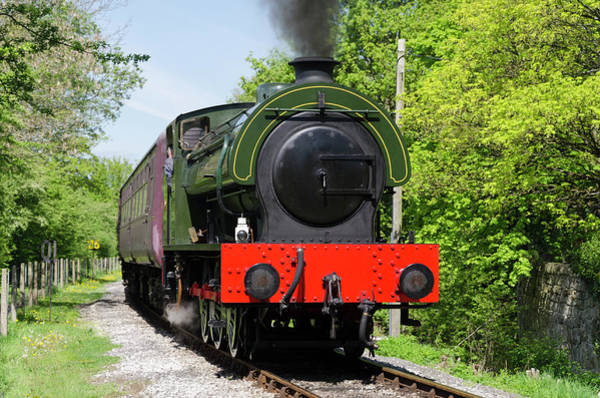 Photograph - Steam Locomotive At Peak Rail by Steam Train