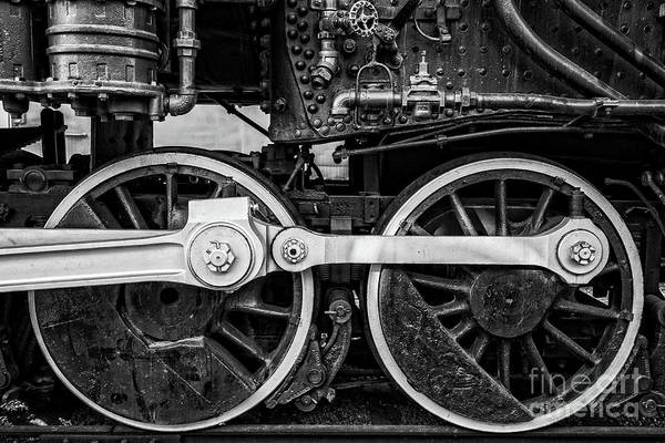 Chandler Photograph - Steam Locomotive Detail by Edward Fielding