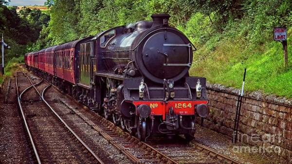 Photograph - Steam Locomotive by Martyn Arnold