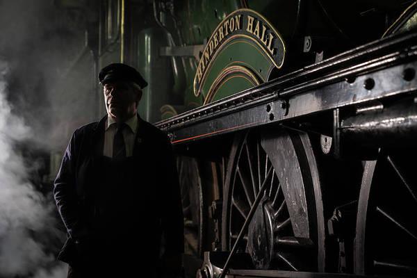 Photograph - Steam Portrait Colour by Framing Places