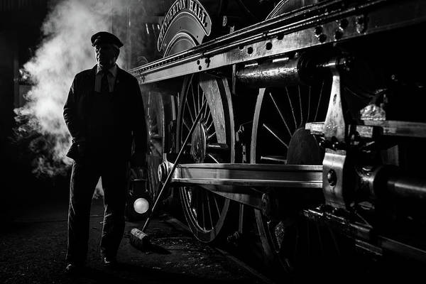 Photograph - Steam Portrait by Framing Places