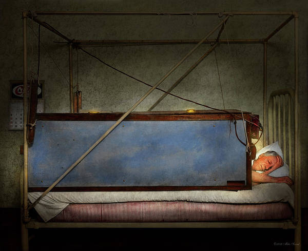 Photograph - Steampunk - Sleep Like The Dead 1927 by Mike Savad