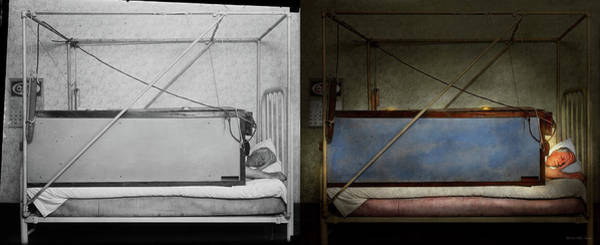 Photograph - Steampunk - Sleep Like The Dead 1927 - Side By Side by Mike Savad