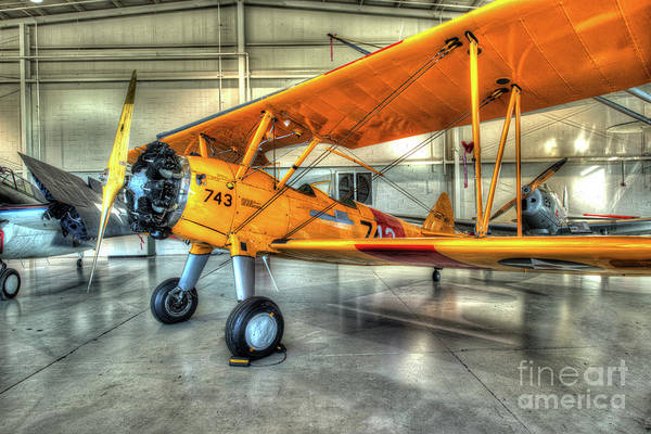 Ju 52 Wall Art - Photograph - Stearman N2s-3 Kaydet by Greg Hager