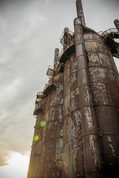 Photograph - Steel by Kristopher Schoenleber