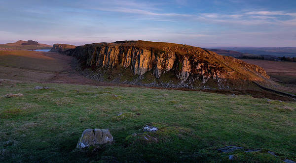 Northumbria Photograph - Steel Rigg And Hadrian's Wall by Nigel Jones