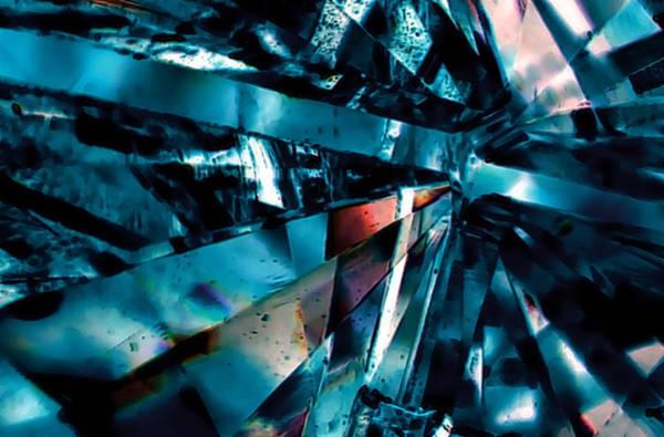 Digital Art - Steel Shards by Ajp