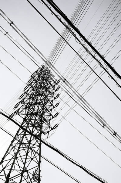 Electricity Generation Photograph - Steel Tower by Ebiq