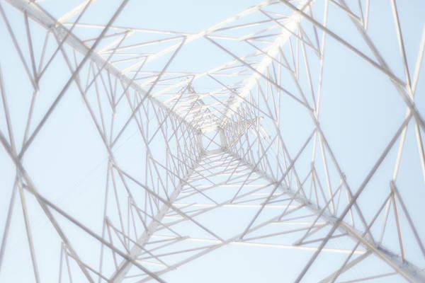 Crisscross Wall Art - Photograph - Steel Tower by Kaneko Ryo