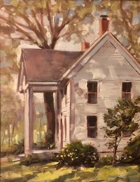 Painting - Steelville History by Marty Coulter