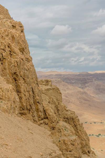 Wall Art - Photograph - Steep Slopes Of Masada by Morris Finkelstein