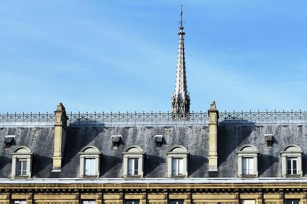 Chapelle Photograph - Steeple Of The Sainte Chapelle by Joelle Icard