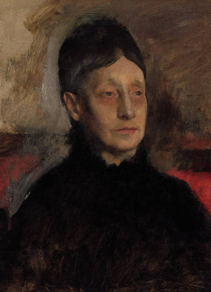 Wall Art - Painting - Stefanina Primicile Carafa, Marchioness Of Cicerale And Duchess Of Montejasi, 1875 by Edgar Degas