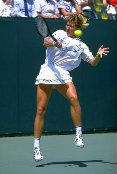 Key Biscayne Photograph - Steffi Graf by Getty Images
