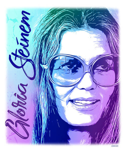Wall Art - Digital Art - Steinem by Greg Joens