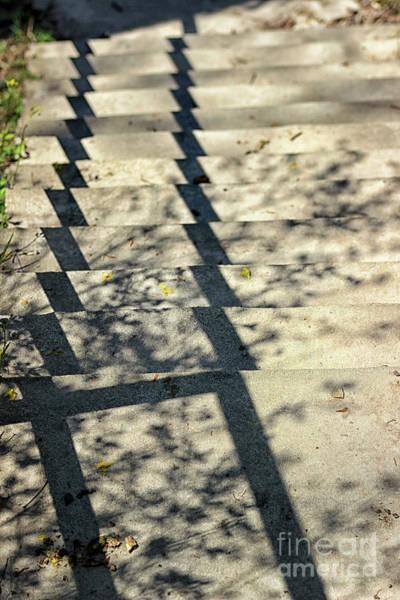Photograph - Step Shadows 1 by Karen Adams