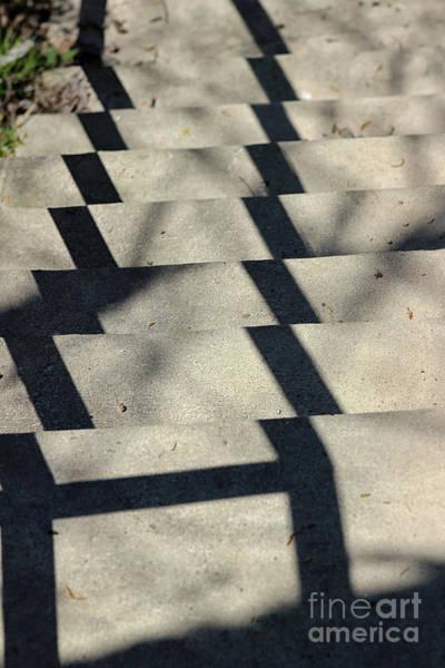 Photograph - Step Shadows 2 by Karen Adams