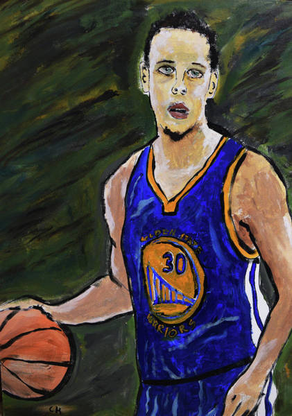 Painting - Steph Curry by Chance Kafka