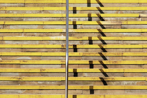Photograph - Steps Abstraction by Stuart Allen