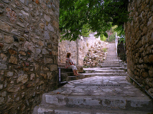 Photograph - Steps And Stones by Micki Findlay