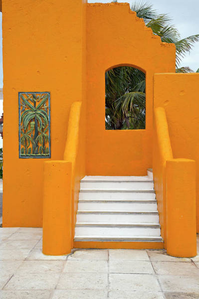 Reliefs Wall Art - Photograph - Steps, Patterns, Colors Of The by Barry Winiker