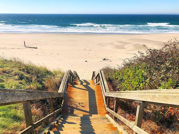 Photograph - Steps To The Beach by Brian Eberly